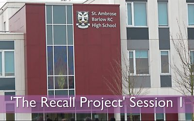 The Recall Project: Session 1