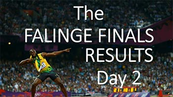 Falinge Finals Results Day 2