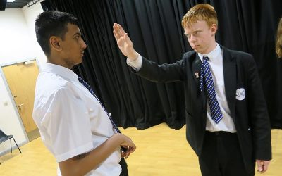 Year 9 'Physical Theatre' Workshop with Oldham Coliseum Theatre