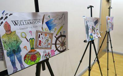Arts Award Discover Sharing Exhibition