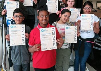 Arts Award Discover Achievers: 'A Lovely End To The Year!'