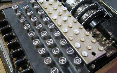 Bletchley Park's 'Engima Machine' Visits FPHS