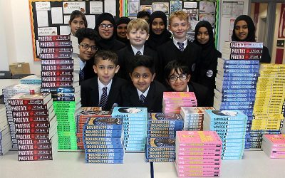 Bookbuzz and the Book Trust 'Free Book Launch' for Yr 7 CALL Learners
