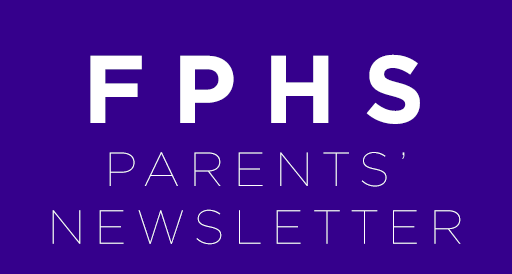 Parent Newsletter – October 2018