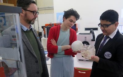 Cultural and Digital Designer in Residence Project Visit to MMU 12/3/2018