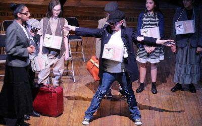 'Pack Up Your Troubles' Drama Club Performance at Oldham Coliseum Theatre