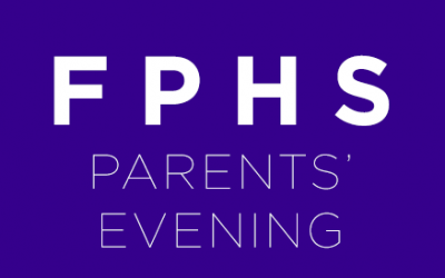 Year 7 Parents' Evening, Thursday 21st June 2018 – 3:15pm to 6:30pm