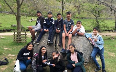 Year 8 Geography visit to Malham, Yorkshire Dales.