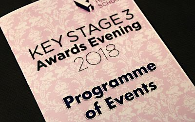 Key Stage Three Awards Evening